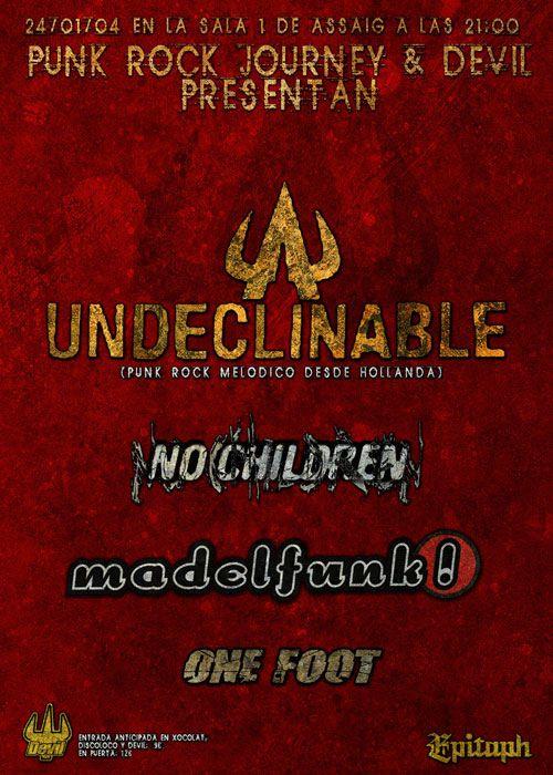 undclinable - punk rock journey and devil