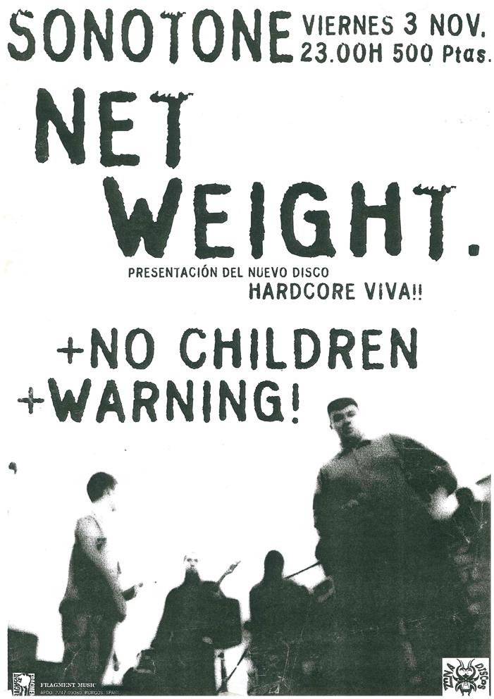 NET WEIGHT NO CHILDREN WARNING